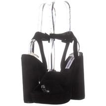 Steve Madden Jodi Platform Sandals 868, Black, 5.5 US - $39.35