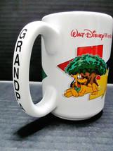 WALT DISNEY Grandpa Mug Around The World Four Parks One World Ceramic Coffee Cup - $35.75