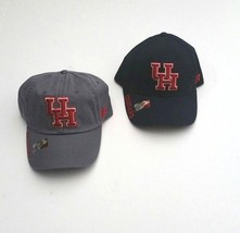 Houston Cougars Men's NCAA Baseball Hat Adjustable Gray or Blue OSFM - $24.00