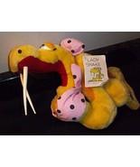 Lady Buxom Snake Plush SNAKE TALES COMIC Pink Bikini RARE 1984 Top Bow A... - $20.78