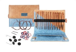 "Knitters Pride Ginger 6"" Interchangeable Afghan/Tunisian Crochet Hook Set - $154.35 CAD"