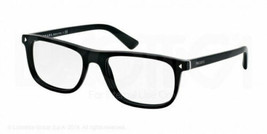 New Authentic Prada Eyeglasses VPR03R 1BO-1O1 Matte Black 55mm w/Case - $118.79