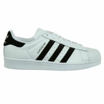 New Adidas Superstar Big Kids CP9333 White Black Sneakers Youth Size 7 - $68.20