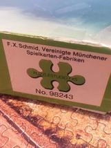 Vintage F.X. Schmid Super Puzzle 1000 - No. 98243 Mont St. Michel image 3