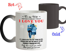 To My Wife Never Forget That I Love You Best Novelty Gift For Wife Coffe... - $18.95+