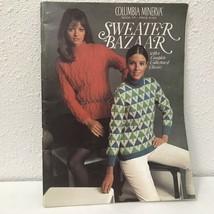 Columbia Minerva Book 771 Vtg 1969 Sweater Bazaar Pattern Book - $9.89
