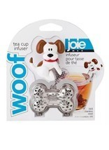 MSC Joie Woof Dog Tea Cup Infuser Stainless Ste... - $18.76