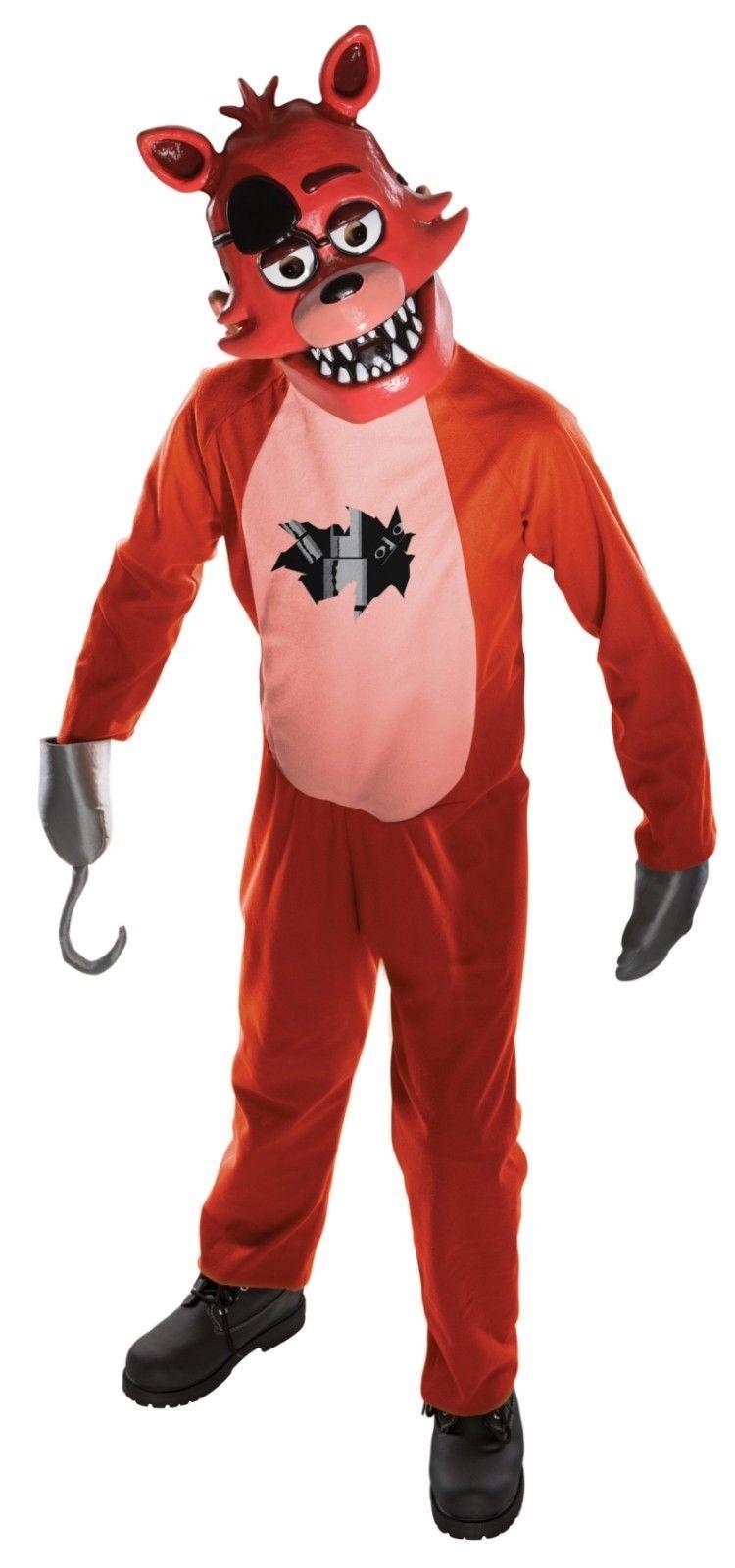 Rubies Five Nights At Freddy's Foxy Tween Child Boys Halloween Costume 630103