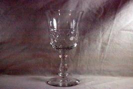 Bryce Criss Cross Vertical Cut Stem #94L Wine Glass - $12.59