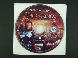 Lord of the Rings The Return of the King PC CD Only EA Games Demo 2003 - $9.89
