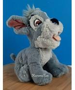 Disney Lady and the Tramp Tote A Tail Tramp Plush Puppy Dog Stuffed Anim... - $21.17