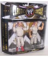 "2005 Classic Superstars ""Mustafa vs Sgt. Slaughter"" Action Figure Set WW... - $49.49"