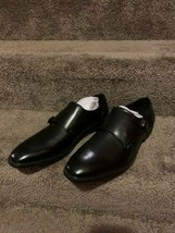 Unlisted by Kenneth Cole Men's Dinner Monk Shoes, Black, Size 8.5 Med - $32.73