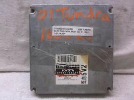 2001..01 TOYOTA  TUNDRA V6 4X2 M/T  CONTROL MODULE/COMPUTER...ECU..ECM..PCM - $315.56