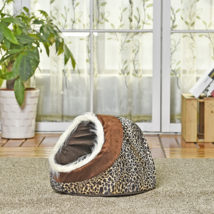 Cute Cat Cave Bed Soft Warm Pet Sleeping Nest Kennel Shelter for Kitty K... - $22.80+