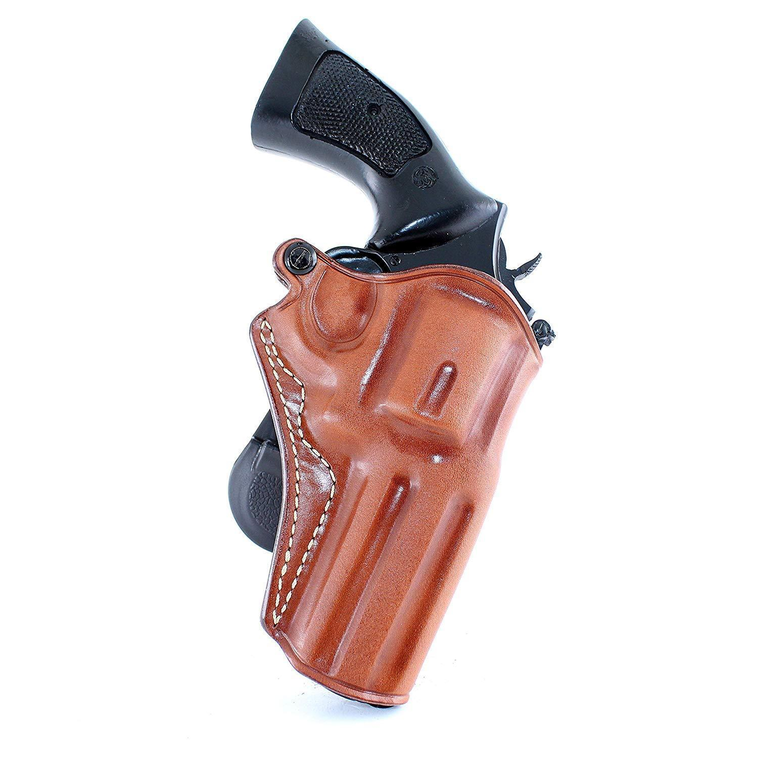 "Primary image for Leather Paddle Holster Fits Colt Pyhton 357 Magnum Revolver 4"" Barrel #1304#"