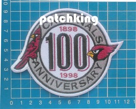 "NFL Football Arizona Cardinals 100th years Anniversary patch jersey 4.5""... - $14.99"