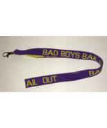 BAD BOYS BAIL BONDS Lanyard (Purple & Yellow color) - $6.50
