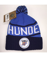 Mitchell & Ness NBA Oklahoma City Thunder High 5 Cuffed Knit Beanie 11894 - $18.59
