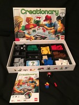 LEGO CREATIONARY Board Game Building Set 3844 100% COMPLETE retired/disc... - $57.03