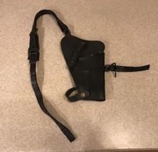 Vintage US Military Gun Harness/Holster Black Strap Broken - $29.99