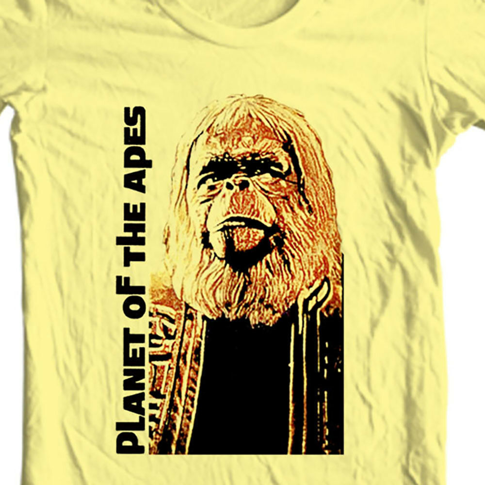 Dr. Zaius Planet of the Apes t-shirt retro vintage sci fi 70s 100% cotton tees