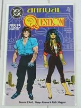 The Question Annual #1 1988 DC Comics Neil Cowan Magyar - C4998 - $1.99