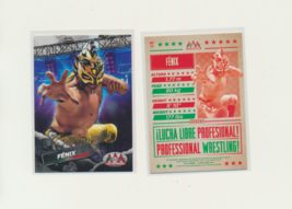 2019 Panini Lucha Libre AAA Fenix #17 - $3.50