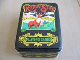 Royal Stag Playing Cards , Metal Box & 2 Decks , Lot of 5 Boxes ( 10 Decks) - $74.16
