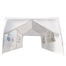 Crazyworldstore 10'x 20' Outdoor Canopy Wedding Party Tent,with 6 Remova... - $86.13
