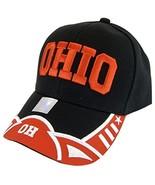 Ohio Men's Stars & Stripes Adjustable Baseball Cap - $12.95