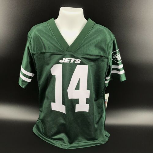 Primary image for NFL New York Jets #14 Sam Darnold Jersey Kids Size XS (4/5)- NEW W/Tags -i