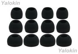 12pcs (ALL-B)  4S / 4M / 4L Replacement Adapter Eartips for Sennheiser Earphones - $11.31