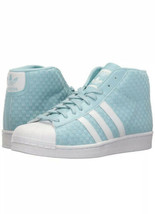 Adidas Pro Model Woven Shoes BY4169 Icey Blue/Running White- Size 11  Shell toe image 2