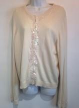 eci new york cardigan sweater size xl - $18.69