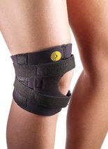 Corflex Knee-O-Trakker Hinged Patellar Tendonitis Brace-L-Latex-Free Neoprene -  - $55.31