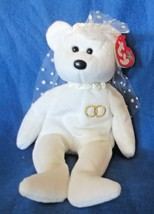 Ty Beanie Baby Mrs. Bride Bear 2000 NEW - $8.90