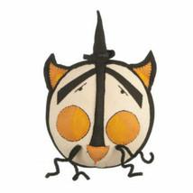 Halloween Decor Black Cat Boo Pops By Karen & Mary Hammerschmidt Pillow  - $27.82