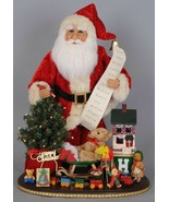"Karen Didion Santa Claus Christmas 20th Anniversary Limited Edition 17"" ... - $299.99"