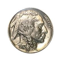Superb - 1917 P Buffalo Nickel - Gem BU / MS / UNC - High Grade Coin - $97.45