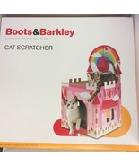 Boots & Barkley Valentine's Day Cat Scratcher Rainbow Castle House - $39.99