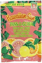 Hawaiian Sun Powdered Drink, Pass O Guava, 3.53 oz - $9.25
