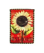 """Evergreen Garden Flag """"Sun Flower- 12"""" x 18"""" Mini Garden Flag- #14S3492BL - $12.99"""