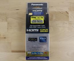 Panasonic RP-CDHM30 High Speed HDMI to HDMI Mini V.1.3a 1080p Viera Cable 9.8ft  - $16.99