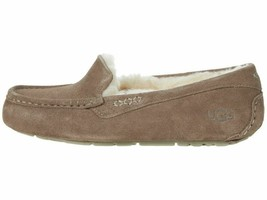 UGG Ansley Slate Women's Suede Indoor/Outdoor Moccasin Slippers 1106878 - $94.00