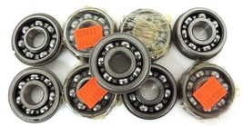 LOT OF 9 NEW NDH 302-SG BEARING WITH SNAP RINGS 302SG, 3302 image 1