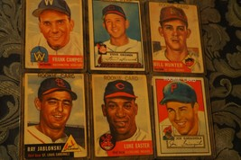 Collectors Lot of 1952 & 1953 Topps Baseball Cards - $47.45