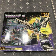 Takara Transformers Destron D-98 Six Tir Action Figurine Used Fabriqué e... - $278.19