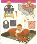 Baby Accessories Highchair Shopping Cart Seat Boppy Pillow Quilt Toy Sew... - $12.99