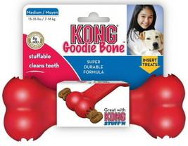 KONG Classic GOODIE BONE Dog Stuff'N Treat Bone Medium  - $8.81